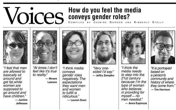 gender roles in the media essay Media and gender refers to the relationship between media and gender, and how  gender is  since the 1990s, gender roles on television seemed to become  increasingly equal and non-stereotyped  although the majority of lead  characters.