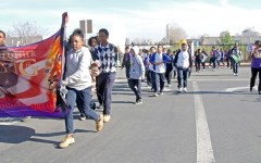 Jr. High marches to showing at theater