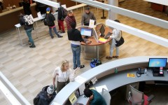 Student Services open