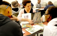 Books animate at LMC