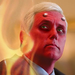 Pence is the flipside of a bad coin