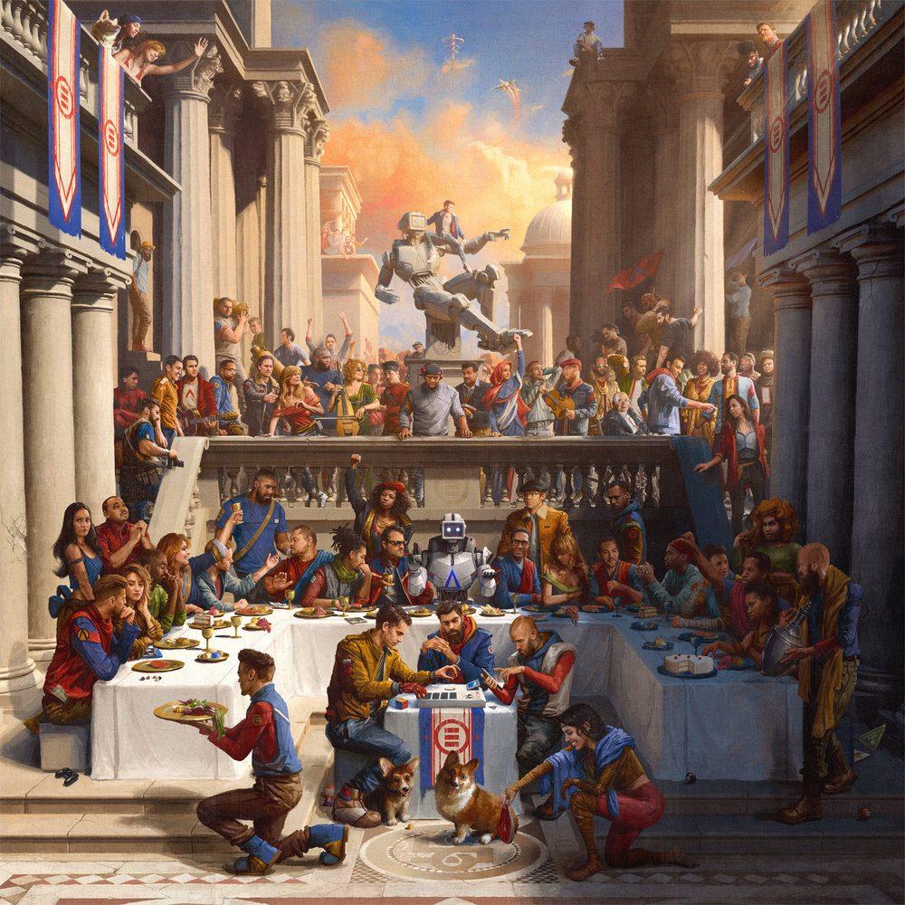 Cover+Art%2C+Album+Cover%2C+Album+Artwork+for+%22Everybody%22+by+Logic.+Illustrated+by+Sam+Spratt