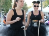 Halloween 5k Run Pittsburg, Ca., The three blind mices. Shown checking in at the registration are Marie Arcidiacono and her friend Alyssa DaRe. They ran the race along with Maries sister Lisa Arcidiancono. They came in as follows, 44, 45 and 46 places. Cathie Lawrence/Experience.