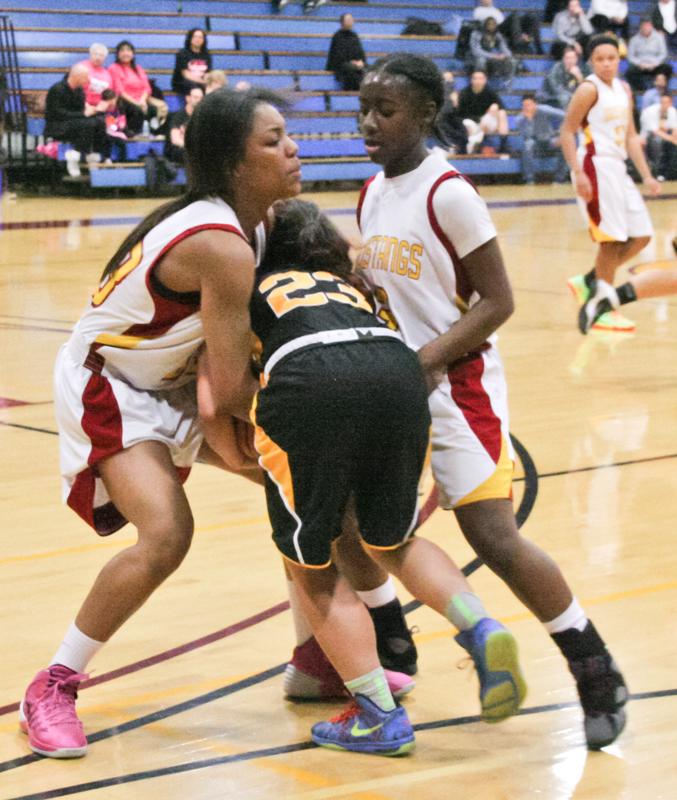 Women\'s Basketball LMC vs Marin 01-31-14