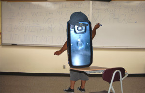 Phones hinder classroom learning