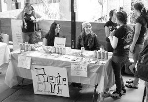 Student organizations promote at Club Day