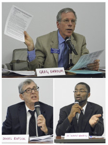 Three battle for Ward 5 board seat
