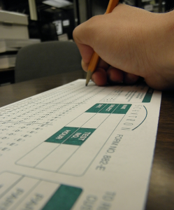 Scantrons back on sale on campus