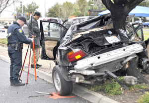 Crash in front of LMC leaves one dead