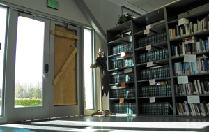 Crooks break into Library