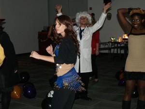 Getting spooky on the dance floor