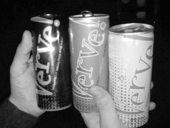 One of Vemma's energy drinks called Verve.