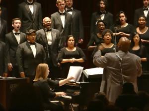 Concert strikes chord; maestro leads choir success
