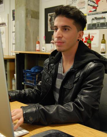 Student artist prevails : poster garners money, accolades