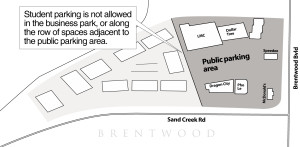 Parking strife in Brentwood