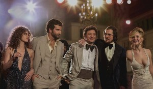 """American Hustle"" was as entertaining as they come as the star-studded ensemble cast, featuring their 70s style regalia and boisterous personalities, took the spotlight in every scene.  It centers around a con scheme where Rosenfeld (Bale) and Prosser (Adams) work with an F.B.I. agent (Cooper) to bring down local politicians. While it will win a fair share of awards, I cannot see it wining the big prize. It was definitely a treat to see, but not as captivating as some of the other nominees.  Four of the five main cast were nominated for awards. Christian Bale for Best Actor, Jennifer lawrence for Best Supporting Actress, Bradley Cooper for Best Supporting Actor and Amy Adams for Best Actress. I think Amy Adams has the best shot to win in her category of Best Actress. I feel that she embodied her role more that the rest of the cast.  — Film reviewed by Brendan Cross"