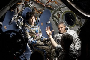 "Alfonso Cuarón creates an intense, beautifully shot and suspenseful sci-fi thriller about survival in the film ""Gravity.""  Sandra Bullock and George Clooney play Dr. Ryan Stone and Matt Kowalski, respectively, two astronauts on a routine spacewalk, however disaster strikes, leaving their shuttle destroyed. Stone and Kowalski are tethered to each other as they spiral out into the dark abyss; the deafening silence marks their unlikely chances of survival. Their fear quickly becomes panic, which eats away the little oxygen they have.  Bullock gives the performance of her career; she radiates fear, intelligence and courage throughout the film with simply a look. Cuarón creates ""Gravity"" with such suspence, it is astounding and will leave you breathless.  — Film reviewed by Alex Tagliamonte"