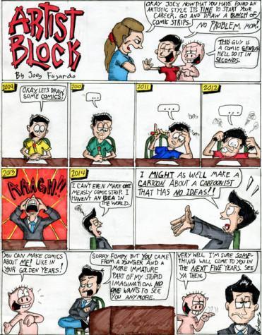 Joey Fajardo's comic strip.