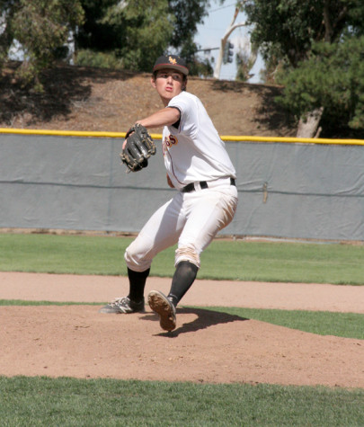 Mustangs starting pitcher Ben Polansky pitched his third consecutive complete game on Saturday, April 26 earning his second CCCBCA Player of the Week.