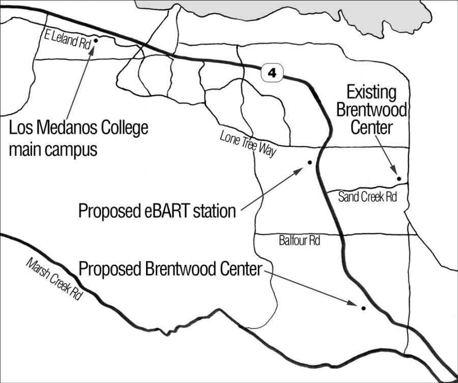 BART is proposing a collaboration in which the new center would be located near BART property.