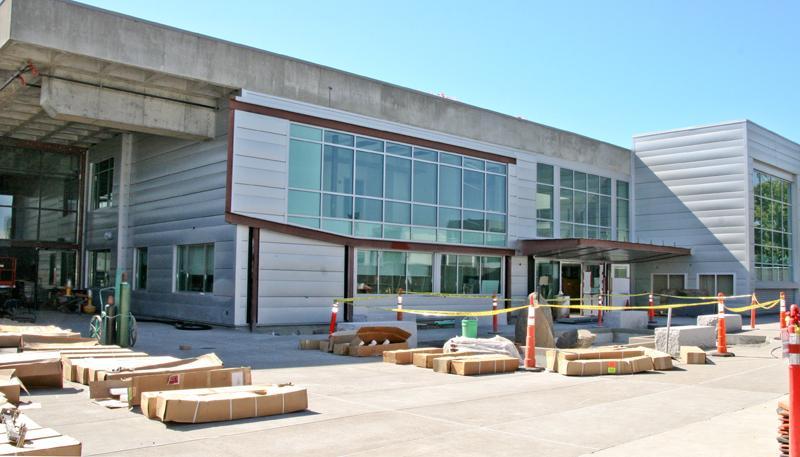LMC Student Service Center, Front of Bldg.