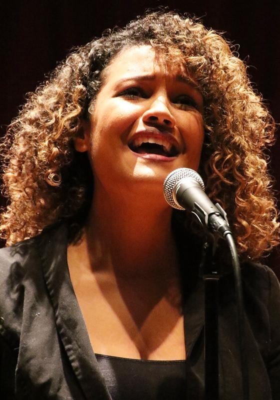 Vocalist+Amber+Griego+performs+Mariah+Carey%27s+%22My+All%22+during+the+Student+Recital+in+the+Recital+Hall+Tues.+Dec.+2.