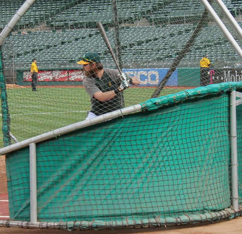 Experience • Steven Luke New MLB rules will make it to where players like Josh Reddick of the Oakland Athletics will have to keep one foot in the box at all time unless he is granted a time out, there is a wild pitch, passed ball or a foul ball.