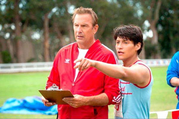 """Based on real-life events, """"McFarland, USA"""" stars actors Kevin Costner and Carlos Pratts."""