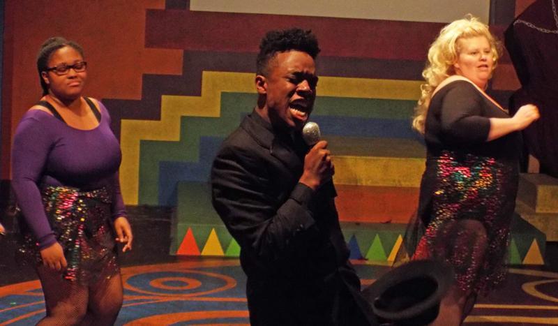 Du'Praiseja Smith, Lenard Jackson and Nicole McGraw. By Luke Johnson