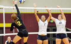 Volleyball tramples Eagles
