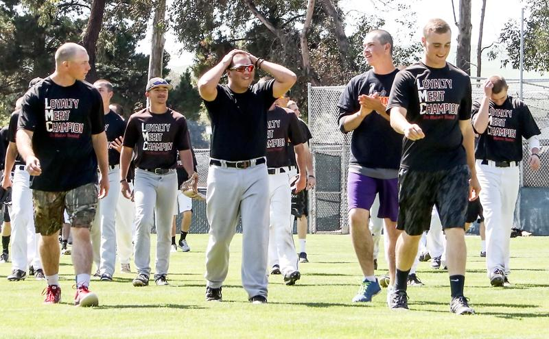 LMC baseball players shaved their heads for their Baseball Head Coaches Mother as she is fighting cancer.