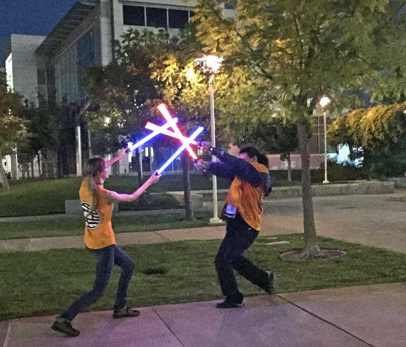 Lightsaber wars