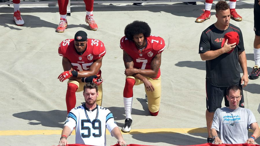 Kaepernick+kneels+for+a+good+cause