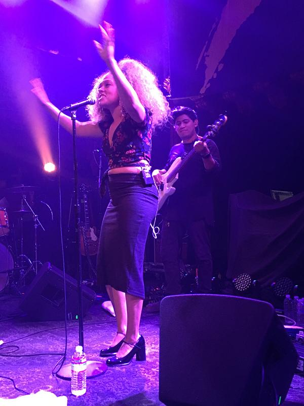 Eryn Allen Kane performs at San Francisco's Great American Music Hall.