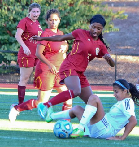Soccer flashes improvement