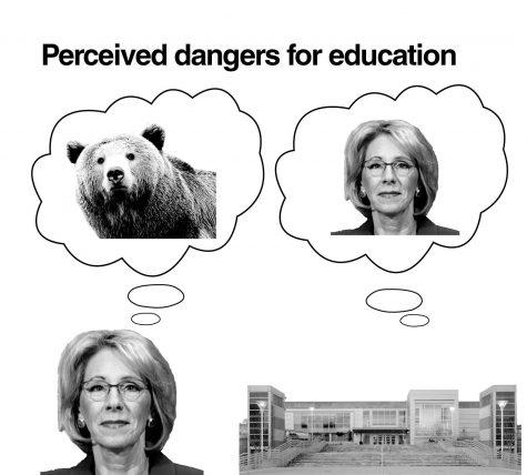 Campus concerned over DeVos