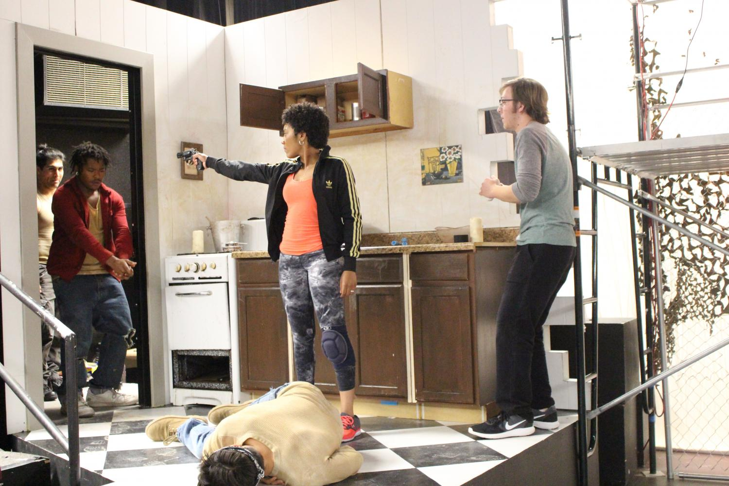 Drama cast eats brains for play