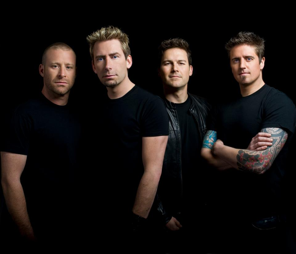 Guess who found themselves at a Nickelback concert?