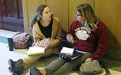 Debate Team competes against four year colleges