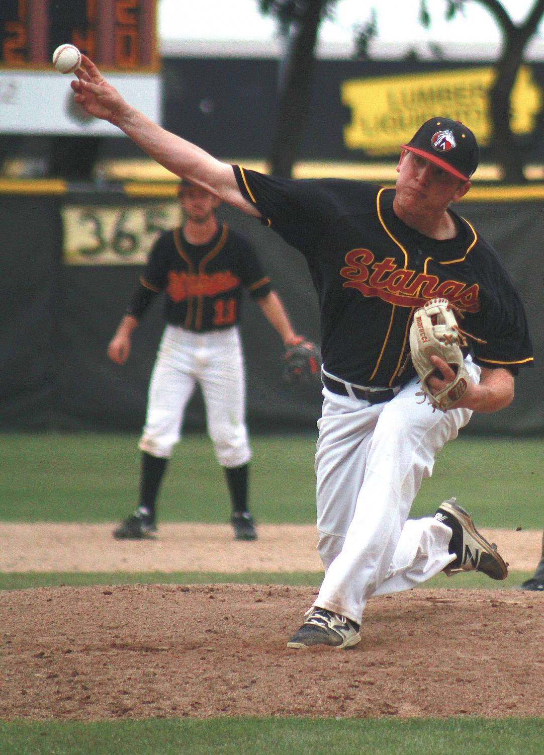 Josh Penrod goes two innings deep, allowing two unearned runs over DVC.