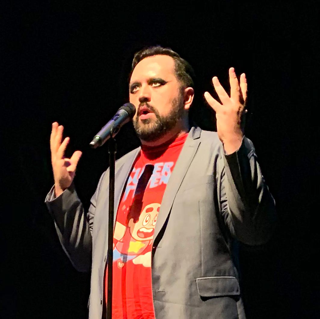 Austin Hernandez delivers a raunchy poem.