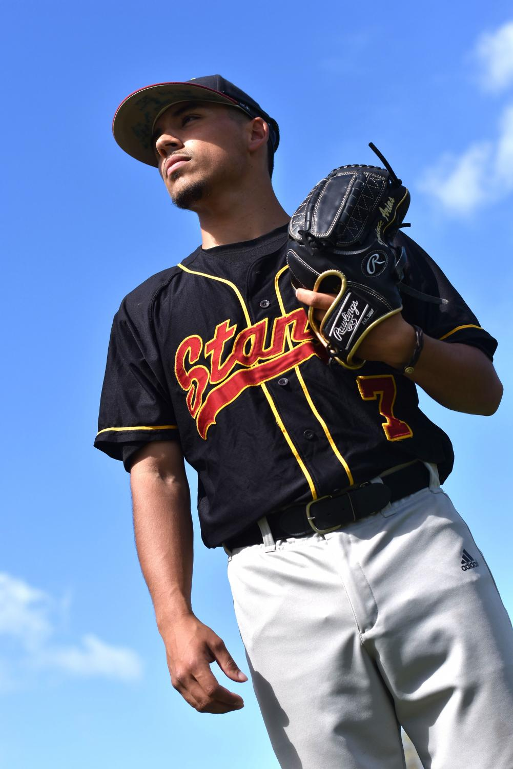 LMC pitcher Dominic Arias committed to Chicago State.