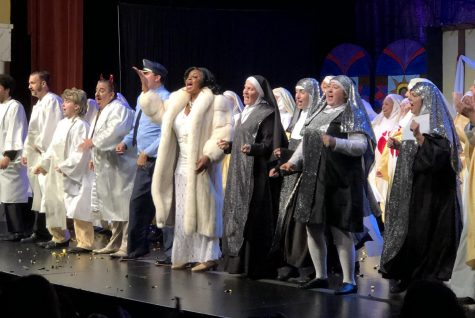"The cast of ""Sister Act"" rocks the pews and shares the love during their opening weekend, closing out their Sunday, Sept. 8 performance at the Pittsburg Community Theatre."