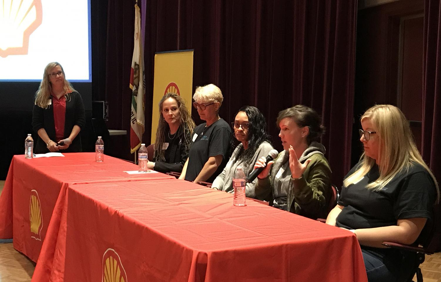 Shell employees empower women and talk about their jobs to inspire more women going into STEM fields.