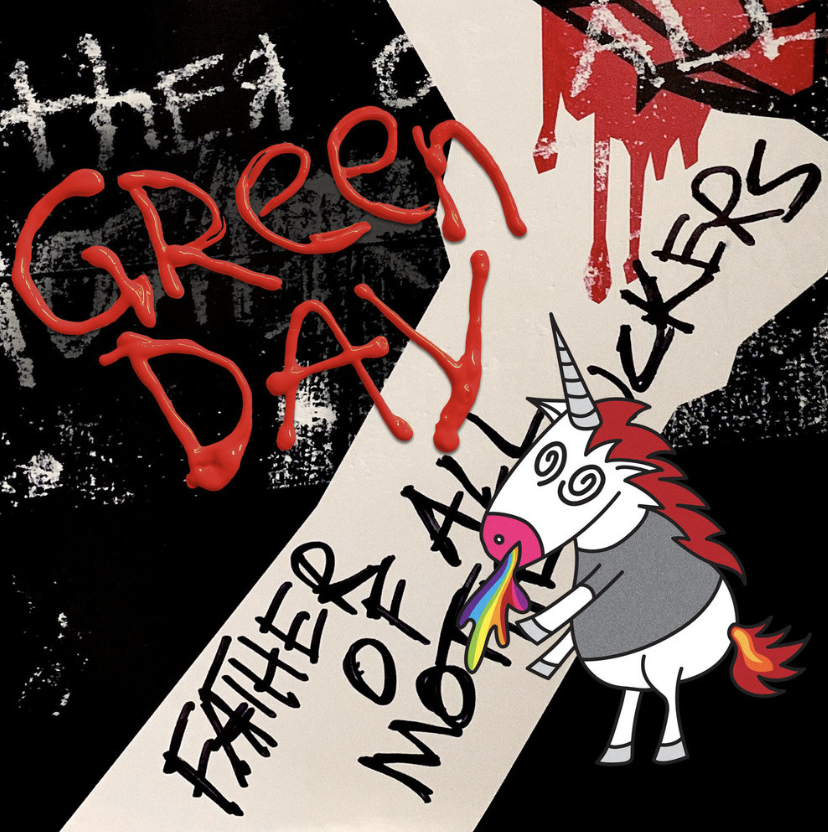 Green+Day%27s+%22Father+Of+All%22+album+cover