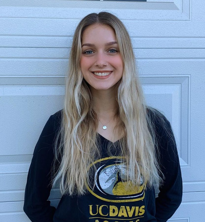 Holly Gallagher reveals that she will continue her collegiate soccer career at UC Davis, a Division-1 athletics school.
