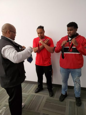 Students learn to tie for success