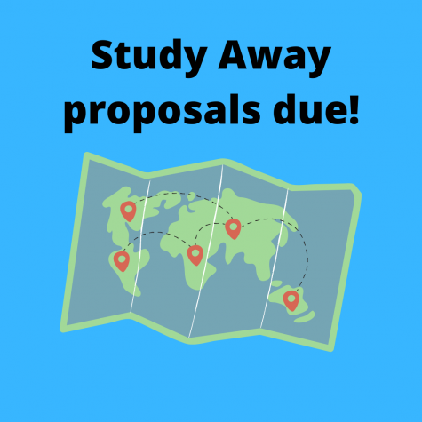 Study Away proposals for 2021 due