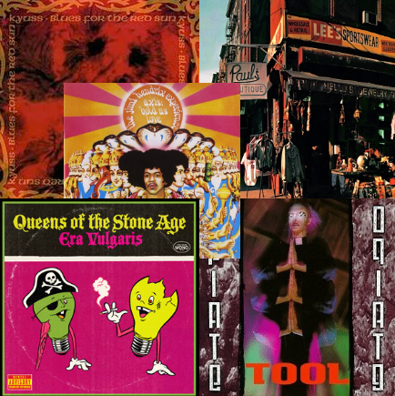 Top 5 - Random albums to check out during quarantine