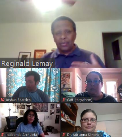 Panelists during the Sept. 9 Zoom meeting.